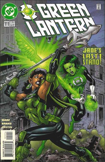 Green Lantern (1990) 111-A by DC