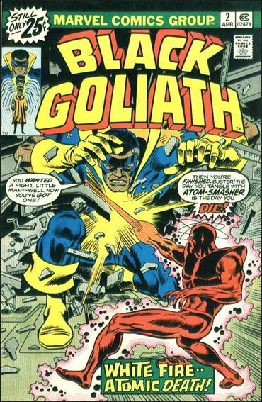 Black Goliath 2-A by Marvel