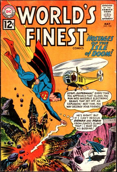 World's Finest Comics 125-A by DC
