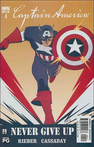 Captain America (2002) 4-A by Marvel