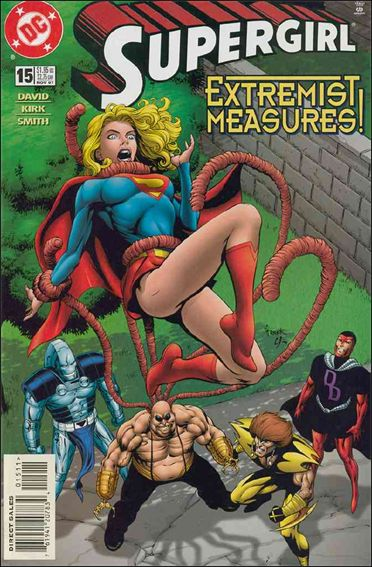 Supergirl (1996) 15-A by DC