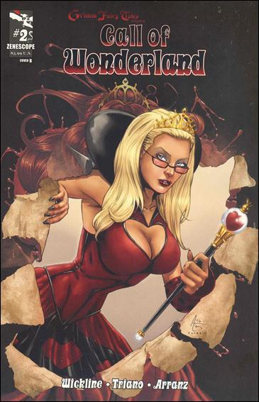 Grimm Fairy Tales Presents: Call of Wonderland 2-B by Zenescope Entertainment