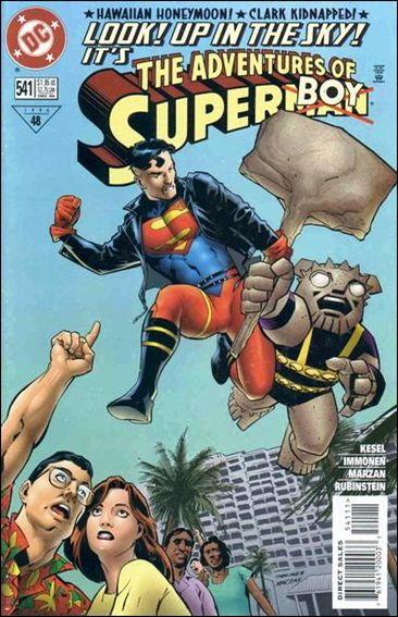 Adventures of Superman (1987) 541-A by DC