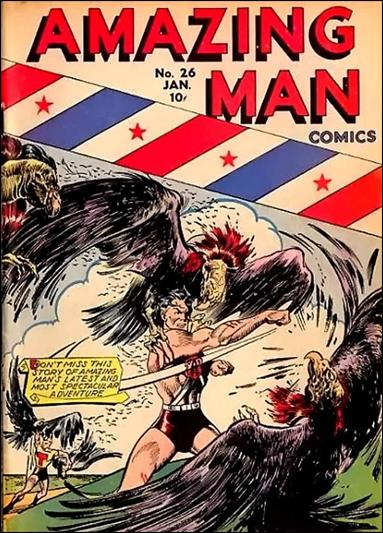 Amazing Man Comics 26-A by Centaur Publications Inc.