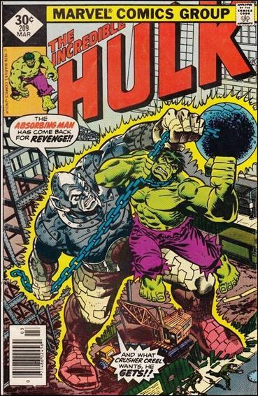 Incredible Hulk (1968) 209-B by Marvel