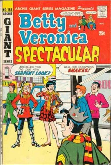 Archie Giant Series Magazine 184-A by Archie