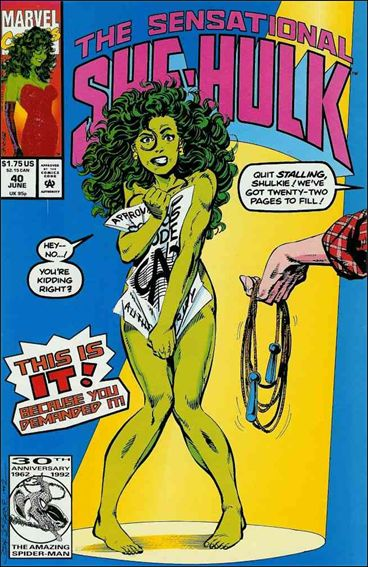 Sensational She-Hulk 40-A by Marvel