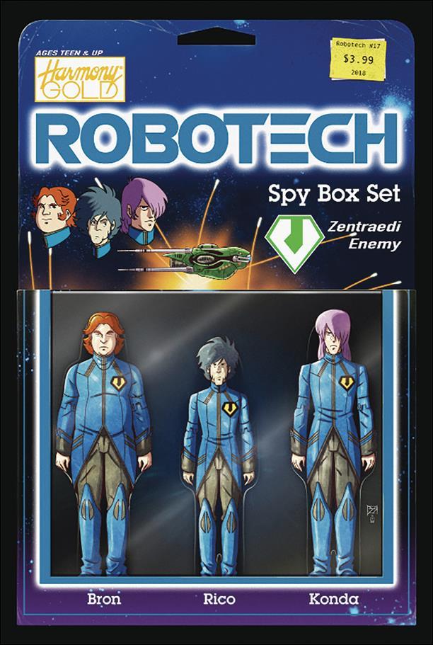 Robotech (2017) 17-B by Titan