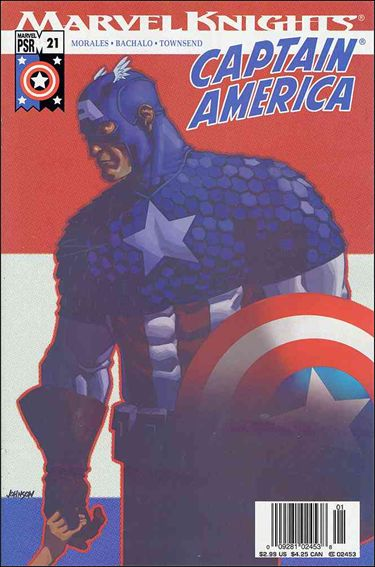 Captain America (2002) 21-A by Marvel