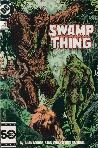 Swamp Thing (1986) 47-A by Vertigo