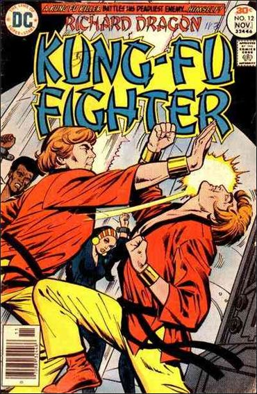 Richard Dragon, Kung-Fu Fighter 12-A by DC
