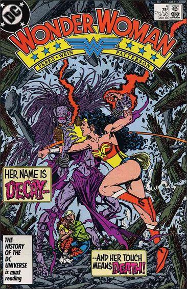 Wonder Woman (1987) 4-A by DC