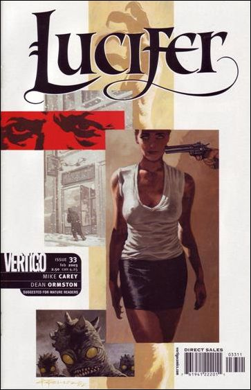 Lucifer (2000) 33-A by Vertigo