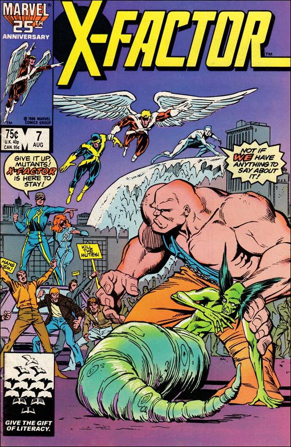 X-Factor (1986) 7-A by Marvel