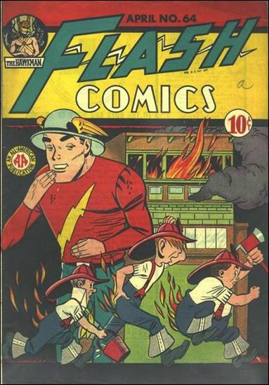 Flash Comics (1939) 64-A by DC