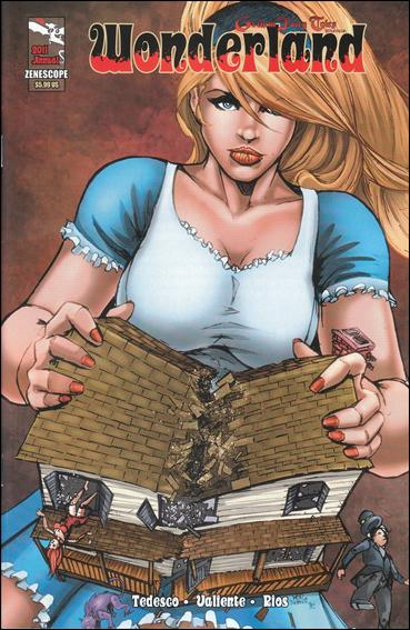 Wonderland Annual 2011-B by Zenescope Entertainment