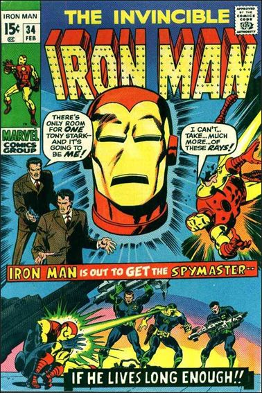 Iron Man (1968) 34-A by Marvel