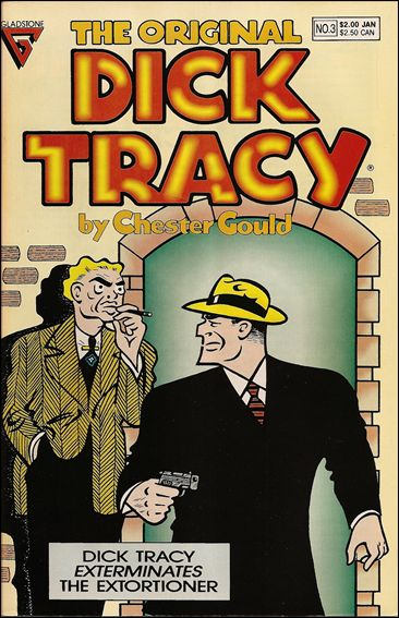 Original Dick Tracy 3-A by Gladstone