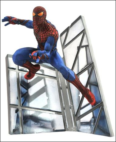Amazing Spider-Man Movie Statue Spider-Man 1/2012 by Diamond Select