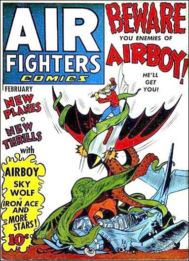 Air Fighters Comics (1941) 5-A by Hillman