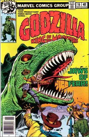 Godzilla (1977) 16-A by Marvel