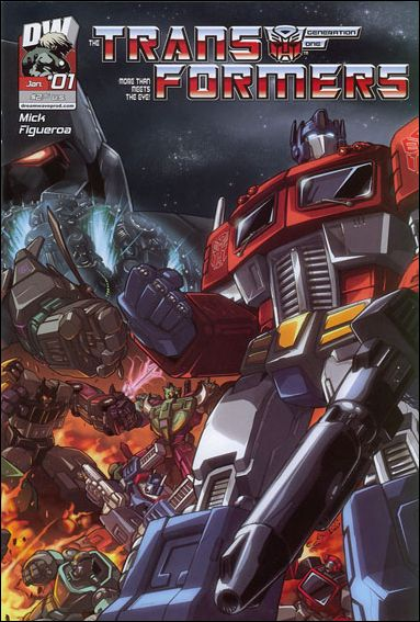 Transformers Generation One (2004) 1-A by Dreamwave