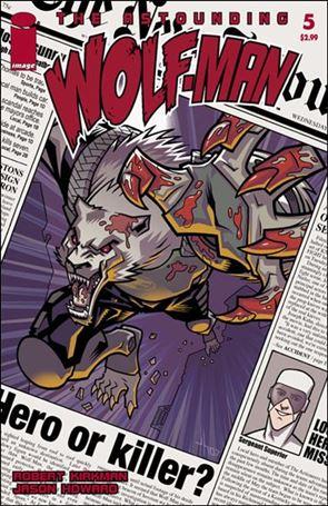 Astounding Wolf-Man 5-A