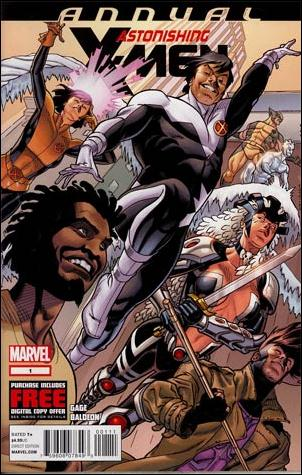 Astonishing X-Men Annual 1-A by Marvel