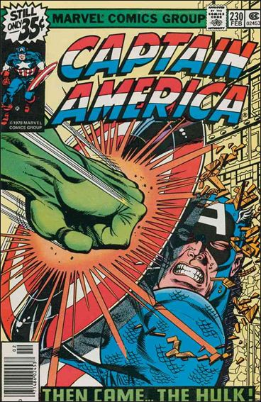 Captain America (1968) 230-A by Marvel