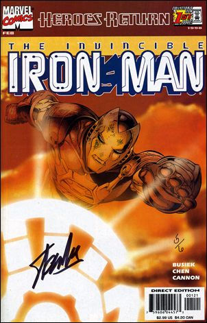 Iron Man (1998) 1-D by Marvel