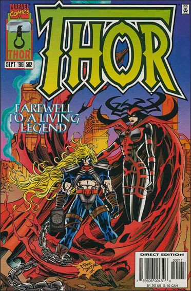 Thor (1966) 502-A by Marvel