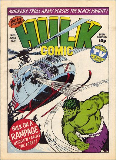 Hulk Comic (UK) 14-A by Marvel UK