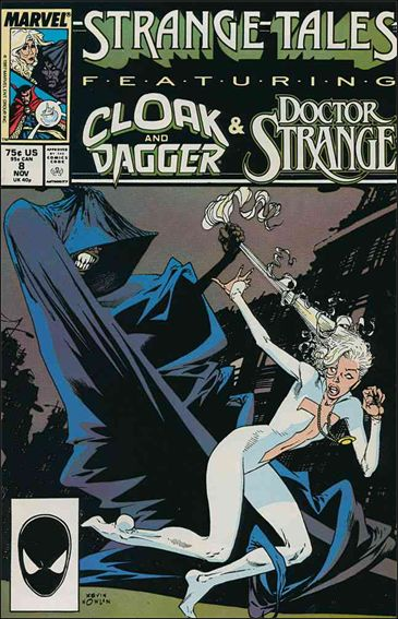 Strange Tales (1987) 8-A by Marvel