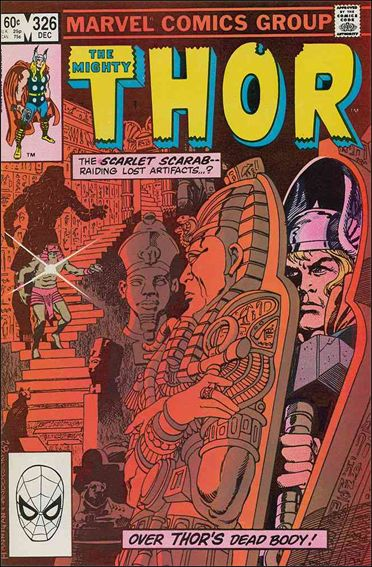 Thor (1966) 326-A by Marvel