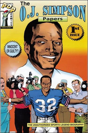 O.J. Simpson Papers 1-A by Pop Comics