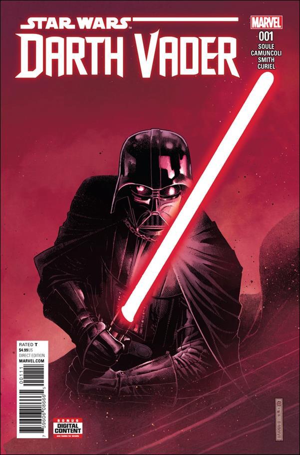 Darth Vader (2017) 1-A by Marvel