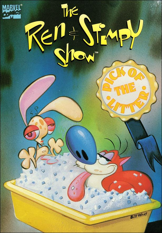 Ren & Stimpy Show: Pick of the Litter 1-A by Marvel