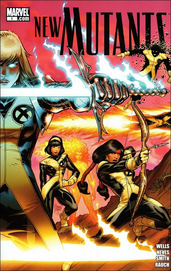 New Mutants (2009) 1-A by Marvel