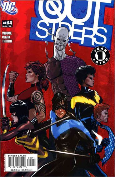 Outsiders (2003) 34-A by DC