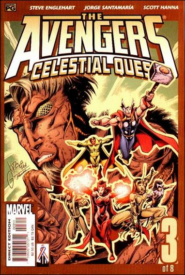 Avengers: Celestial Quest 3-A by Marvel