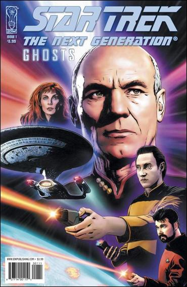 Star Trek: The Next Generation: Ghosts 1-A by IDW
