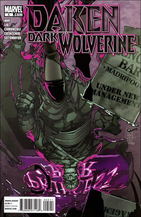 Daken: Dark Wolverine 5-A by Marvel