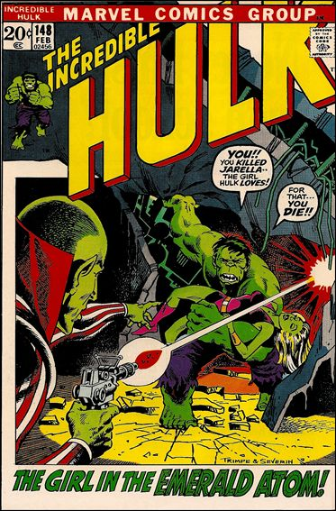 Incredible Hulk (1968) 148-A by Marvel