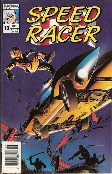 Speed Racer (1987) 13-A by Now Comics