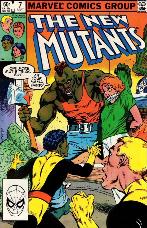 New Mutants (1983) 7-A by Marvel