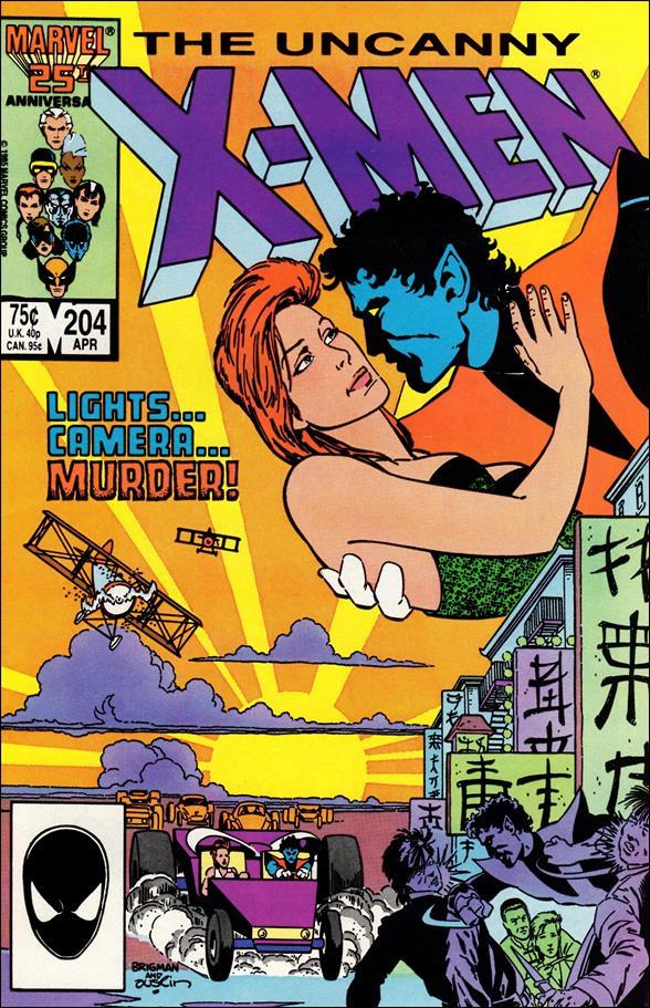 Uncanny X-Men (1981) 204-A by Marvel