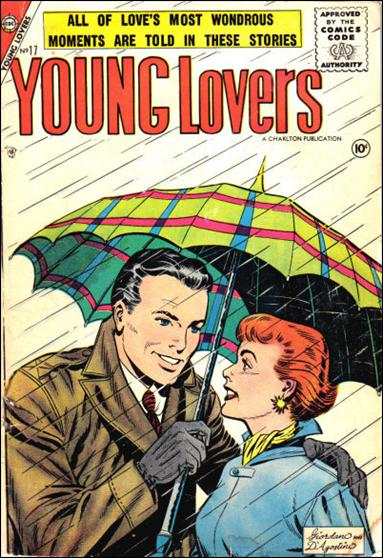 Young Lovers (1956) 17-A by Charlton