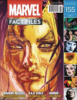 Marvel Fact Files 155-A
