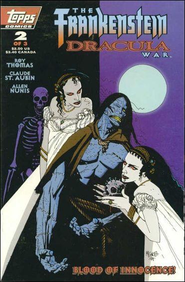 Frankenstein/Dracula War 2-A by Topps