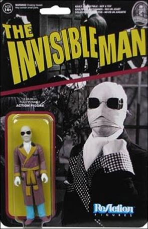 ReAction: Universal Monsters The Invisible Man